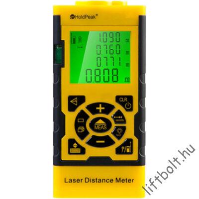 Digitális, lézeres távolságmérő