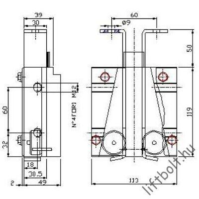 Fogókészülék SP50