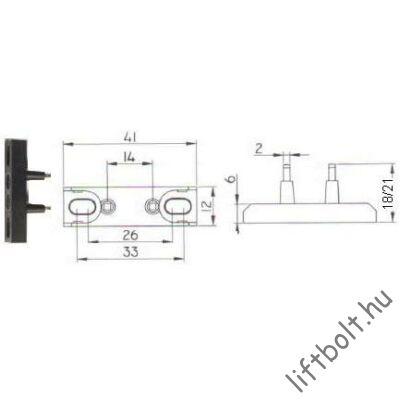 H21 ajtóérintkező rövidzár
