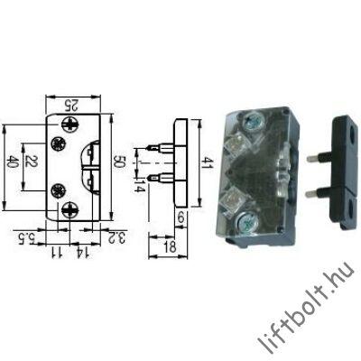 DSAE ajtóérinzkező + rövidzár