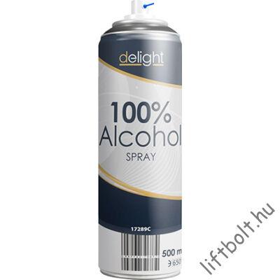 100% alkohol spray - 500 ml (fertőtlenítésre, tisztításra)