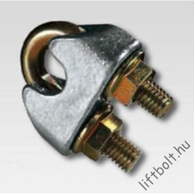 Kötélbéka d6,5 - kötélszorító bilincs (MINŐSÍTETT)