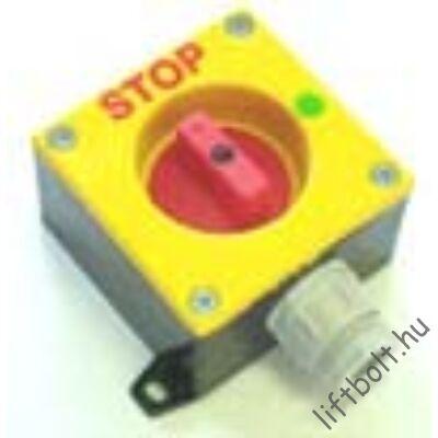 biztonsági STOP kapcsoló tokozattal
