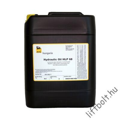 HLP 68 hidraulika olaj kis kannában