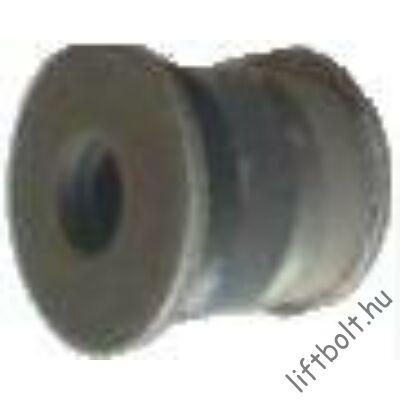 d6-8 kötélbekötéshez buffer tányérral, átmérő 45 x 40, furat: 13 mm