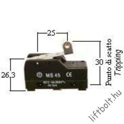 mikrókapcsoló MS45