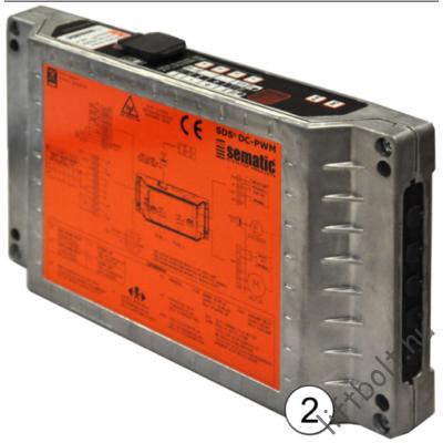 Sematic SDS DC-PWM ajtóhajtás elektronika