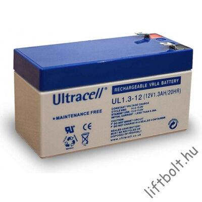 Zselés akkumulátor 12 V 1,3 Ah
