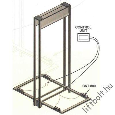 Fülke alá építhető terhelés érzékelő mechanikus rész + elektronika