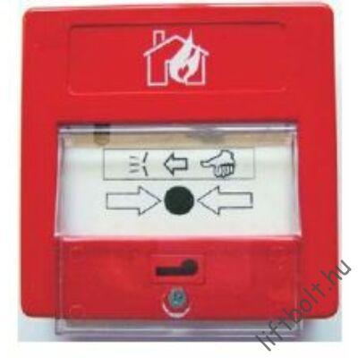 Tűzeseti kapcsoló - falra szerelhető